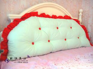 大靠背含芯办公室两用可爱结婚靠枕韩国超大靠背垫午睡枕靠垫抱枕,婚庆,
