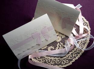 结婚喜帖创意请帖紫色个性创意欧式三折式婚礼用品请柬定制B0013,婚庆,