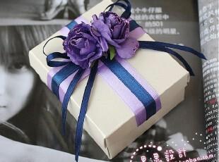 婚庆用品 进口珠光纸 紫色 主题 欧式个性创意喜糖盒 CFH06,婚庆,