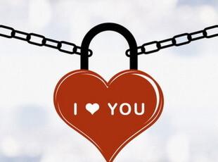 墙面软装装饰韩国【爱情锁】结婚喜字贴玻璃贴壁花贴纸贴画贴花,婚庆,