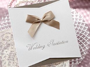 依米娜 韩版个性结婚请柬 创意请帖 定制喜帖 结婚请帖 婚卡GB015,婚庆,