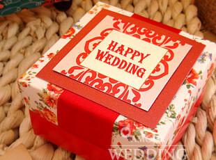 成品大家闺秀 中式个性喜糖盒 创意婚庆用品  爱慕婚品正品 THA59,婚庆,