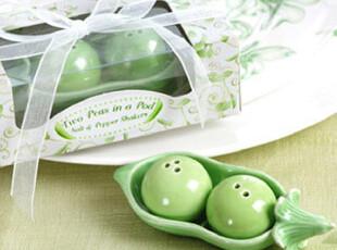 欧式结婚回礼婚礼礼物迷你豌豆 flavoring-pots礼盒用品创意婚庆,婚庆,