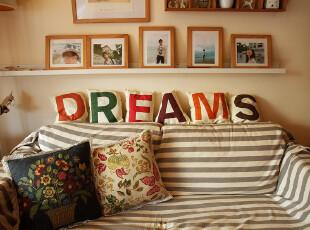 【icatlife】身体的暖意 梦想家 Dreams 装饰靠垫 抱枕 结婚礼物,婚庆,