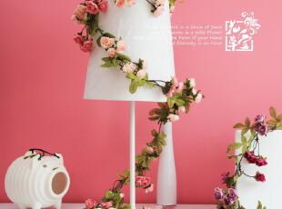 7折 韩式花藤 仿真花藤 结婚婚房挂壁假花藤蔓 家居装饰品 1.5米,婚庆,