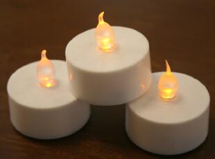 外贸无味无烟烛油/烛台/工艺电子蜡烛/婚庆用品/派对用品*送电子,婚庆,