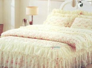 【Asa room】韩国床上用品 高档时尚婚庆床品四件套可定做c076,婚庆,