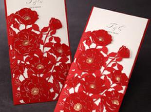 唯思美结婚请帖个性定制韩式欧式创意请柬喜帖请贴2012新款CW1014,婚庆,