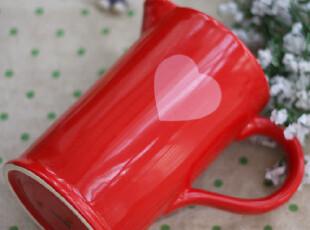 ◣豆巴巴◥超甜美!两用浪漫桃心凉水壶 花瓶花插  喜庆结婚礼物,婚庆,