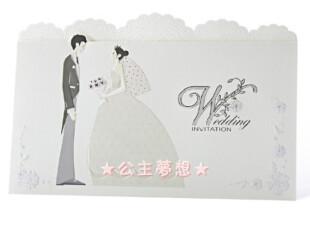 ●公主梦想●韩国●梦幻婚礼用品定制结婚请柬卡片 GA7051,婚庆,