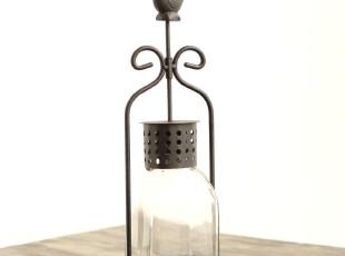 玐玖琦珥结婚礼物创意美克美家风新古典铁艺铁质小鸟烛台装饰摆件,婚庆,