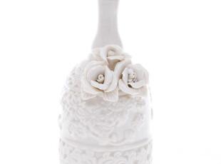 幸福铃声~浪漫浮雕花朵婚礼摇铃/摇铃/婚庆用品 4180 0.2kg,婚庆,