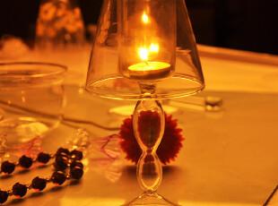 欧式水晶玻璃烛台 浪漫生日礼物礼品 家居婚庆摆件餐厅餐桌装饰品,婚庆,