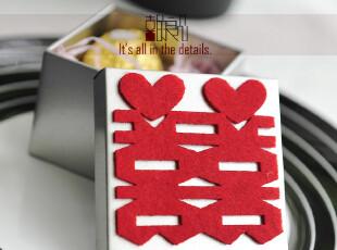 喜的良品2012马口铁喜糖盒子 欧式结婚创意 婚礼用品糖果包装T-2,婚庆,