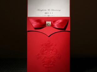 巴伦森唯思美结婚请帖个性定制韩式欧式创意请柬喜帖请贴CW0044,婚庆,