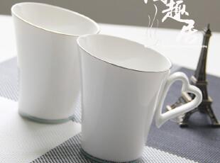 【日本婚庆陶瓷】陶瓷斜口马克杯/咖啡杯  日单陶瓷 HS-013,婚庆,