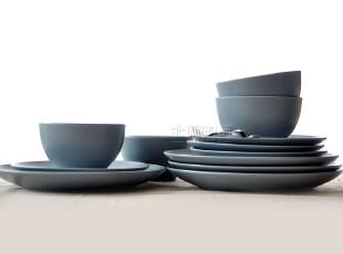 北欧现代简约 宜家订单法格里克陶瓷餐具碗碟套装 12头 结婚礼品,婚庆,
