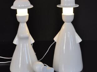 【乐灯】浪漫灯饰温馨床头卧室灯具婚庆客厅灯书房灯情侣夫妻台灯,婚庆,