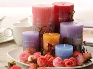 【伊莎世家】带干花蜡烛 浪漫套餐创意生日婚庆香薰蜡烛 浪漫浴室,婚庆,