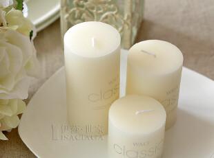【伊莎世家】无烟蜡烛 浪漫套餐创意生日婚庆婚礼香薰蜡烛-奶白调,婚庆,