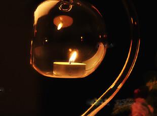热卖新款欧式烛台 悬挂玻璃烛台 家居装饰烛台婚庆装饰烛台送蜡烛,婚庆,