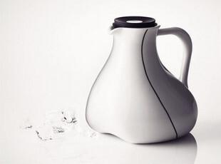 丹麦MENU 生物流线陶瓷水壶/水瓶 结婚礼物 厨房餐饮必备,婚庆,