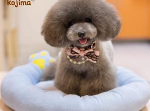 包邮日本KOJIMA狗窝清凉爪型 春夏泰迪宠物用品猫床房子可配冰垫,宠物用品,