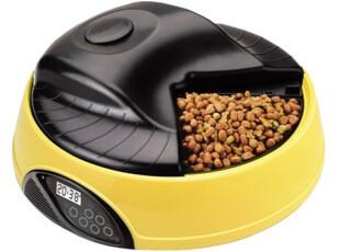 派旺四餐宠物定时自动喂食器补食器 泡猫狗粮录音 PF-05A,宠物用品,