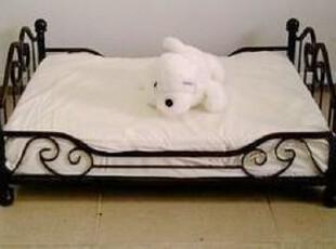 定做 铁艺宠物床 狗床 猫床 铁艺床 中小型犬 狗窝 送狗窝垫,宠物用品,