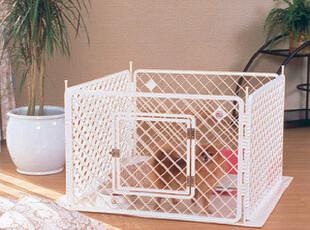 日本IRIS爱丽思宠物围笼H-604 H604 白色,宠物用品,