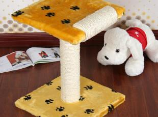 短毛绒双层猫树猫跳台 猫抓板猫咪玩具 游乐园猫爬架宠物用品,宠物用品,