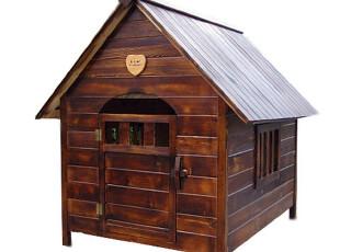 特价出口日式可拆洗环保防腐木木制大型犬户外狗窝狗屋狗房子,宠物用品,