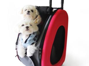 IBIYAYA依比呀呀FC1008宠物拉杆包狗拉杆包可拆洗可折叠猫拉杆箱,宠物用品,
