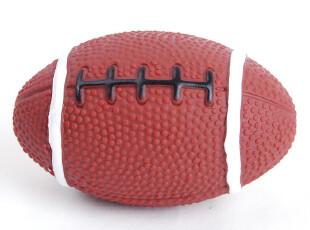 10cm橄榄球 塑料狗狗玩具 响声宠物玩具 lovabledog,宠物用品,