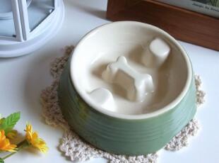 PET 宠物也疯狂 超可爱陶瓷宠物碗 猫狗碗 宠物用具,宠物用品,