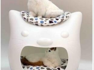 多省包邮 kitty meow凯蒂喵 宠物猫窝狗窝/屋/睡床/垫 蛋蛋窝,宠物用品,