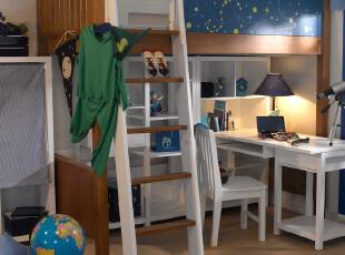 【I满分】天马行空创意上下床(下床空)组合床 儿童床 男孩系列,床,
