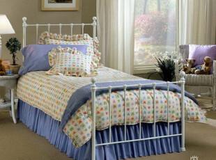 泰丽斯 欧式风格 铁艺床 铁床 单人床 儿童床,床,