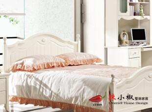 辣小椒 现代时尚 韩式田园 卧室家具 1.2米/1.5米双人床 BT901,床,