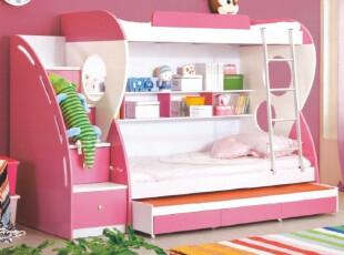 儿童家具 儿童床 1米双层床 子母床 高低床 组合床 送三抽子床,床,