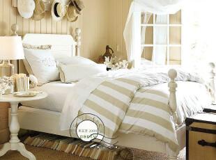 卧室 实木 卡洛琳 双人床 美式 大气 高贵 美克美家 m017,床,