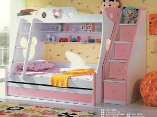 儿童家具 儿童床 高低床 子母床 1.2米双层床 组合床 上下床米奇,床,