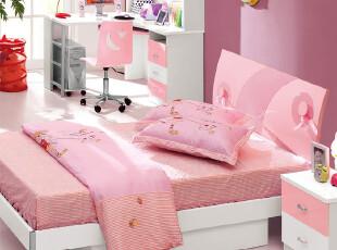 广东品牌家具 儿童套房卧室套装 儿童家具组合1.2米1.5儿童床小床,床,
