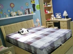 Y.W 热卖 实木家具 双人床 榻榻米床 简约家具 居乐优品 可爱新品,床,