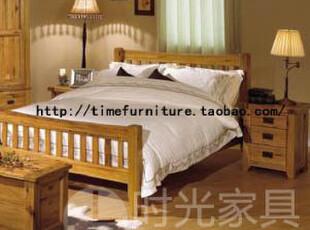 简爱!150橡木床橡木家具/实木家具/实木床外贸家具英国尾单,床,