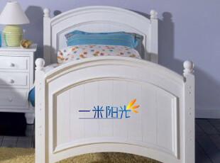 厂家定制/美式乡村/欧式田园/地中海风格/实木环保家具 儿童床,床,
