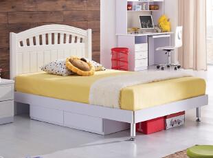 IKAZZ 爱家私儿童家具 田园风格公主床 卧室儿童床 包物流806,床,