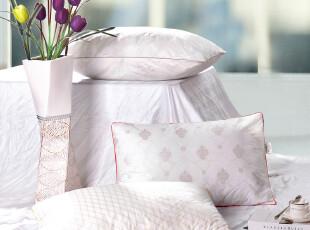 锦阁 柔软舒适透气纯棉枕头 枕芯 保健枕 护颈枕 颈椎枕,床品,