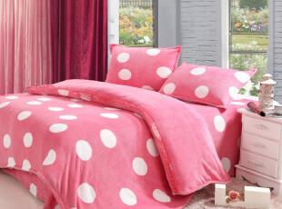 2012特价加厚珊瑚绒四件套韩版式家纺清仓床上用品包邮,床品,