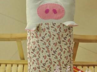 本原纯棉 婴幼儿童卡通可爱小猪枕头 含芯l两用 决明子 礼品,床品,